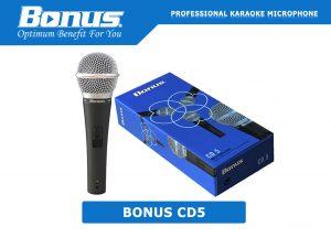 Micro karaoke có dây Bonus CD5