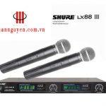Micro karaoke Shure LX88 III