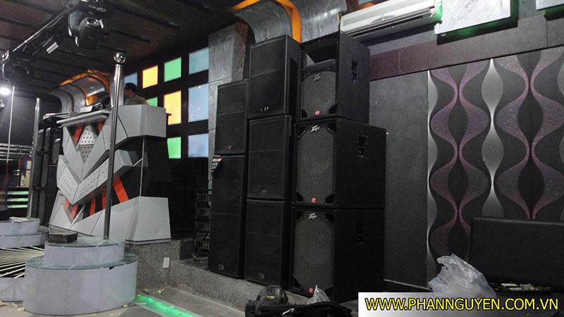 Công trình thi công âm thanh Bar Phi Ưng Tân Sơn Nhì