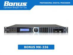 Vang số - Mixer digital karaoke Bonus MK-336 cao cấp.