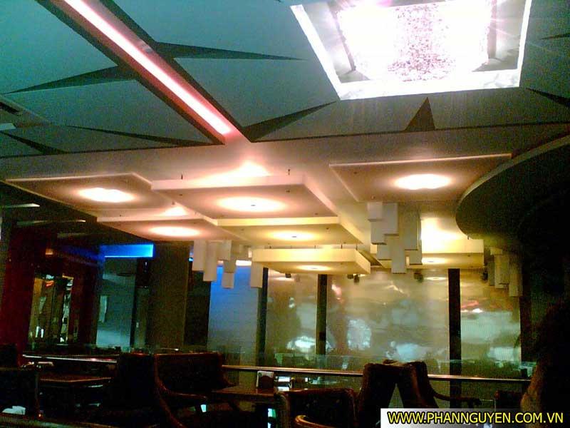 Công trình thi công âm thanh ánh sáng Bar Ly Ly