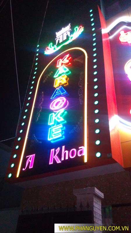 Công trình thi công phòng karaoke Anh Khoa Biên Hòa