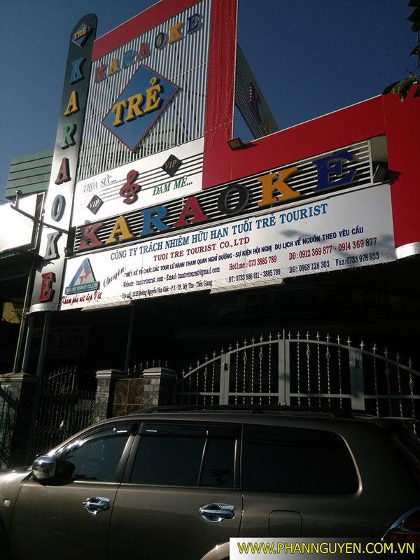 Công trình thi công phòng karaoke Trẻ Mỹ Tho Tiền Giang