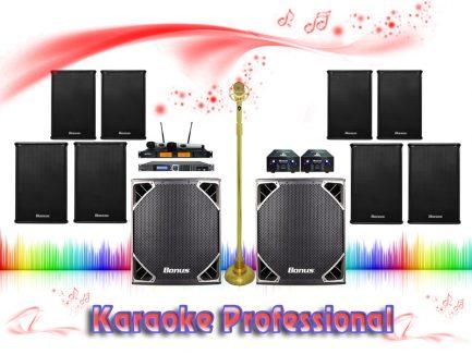 Dàn karaoke chuyên nghiệp, đỉnh cao BA-02CN