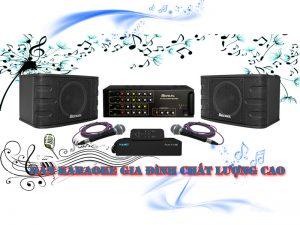 Dàn karaoke gia đình BA-01GD