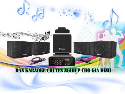 Dàn karaoke gia đình chuyên nghiệp BA-02GD