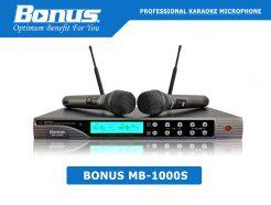 Micro karaoke không dây Bonus MB-1000S chuyên nghiệp.