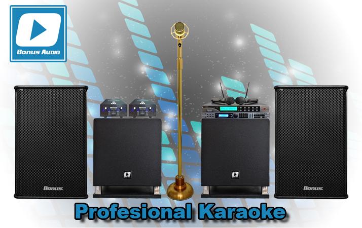 Thiết bị karaoke chuyên nghiệp