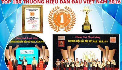 Phan Nguyễn Audio đạt giải thưởng Thương Hiệu Dẫn Đầu Việt Nam 2016