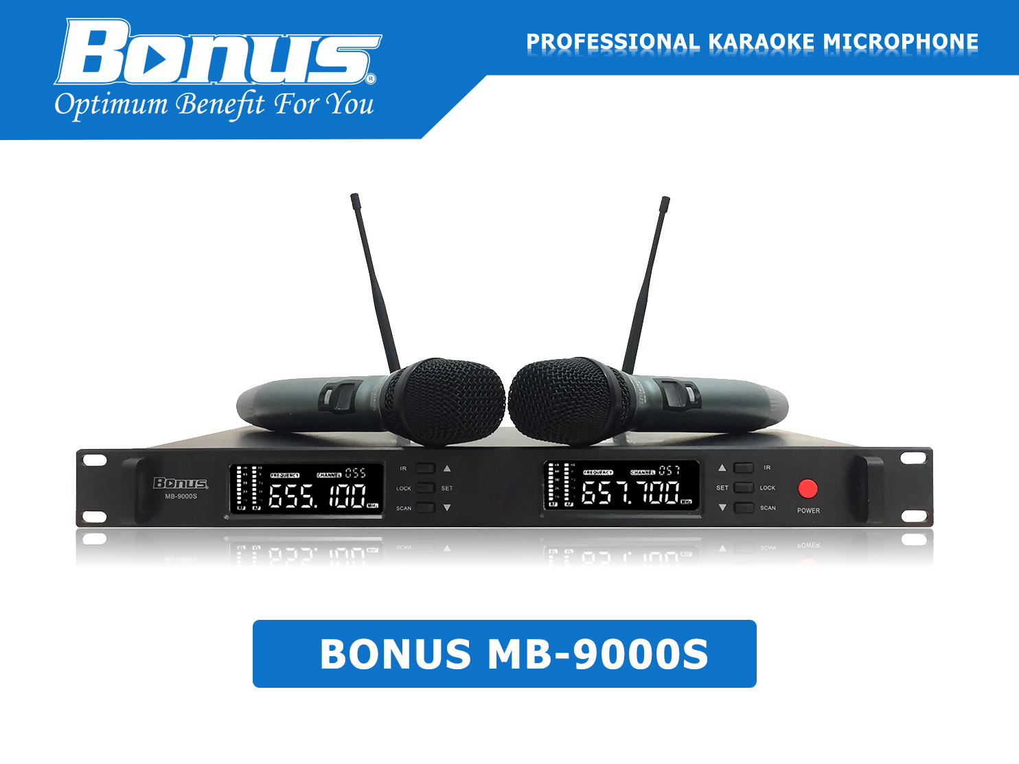 Micro karaoke không dây Bonus MB-9000