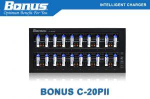 Bộ sạc pin thông minh Bonus C-20PII