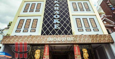 Thi công âm thanh karaoke chuyên nghiệp tại GOLD STAR Gò Vấp.