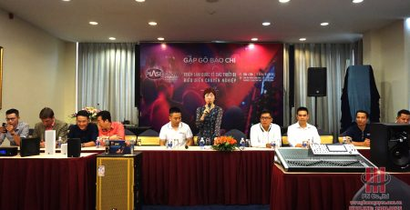 Phan Nguyễn Audio họp báo Plase Show 2019