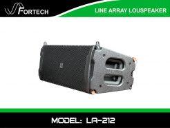 Loa Line Array Fortech Model: LA-212 cao cấp