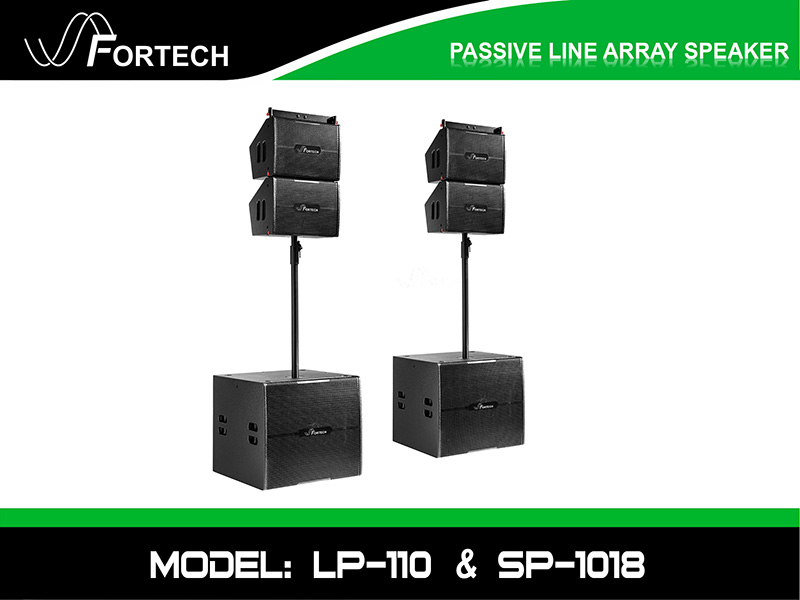 Loa line array passive Fortech Model: LP-110