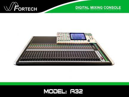 Digital Mixer – Bàn trộn kỹ thuật số Fortech A32