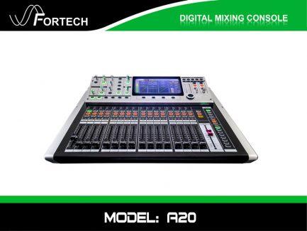 Digital Mixer – Bàn trộn kỹ thuật số Fortech A20