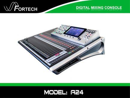 Digital Mixer – Bàn trộn kỹ thuật số Fortech A24