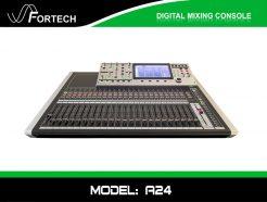 Digital Mixer - Bàn trộn kỹ thuật số Fortech A24