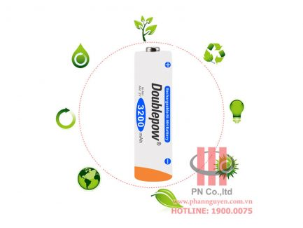 Pin sạc dung lượng cao DoublePow DP-3200mAh