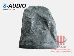 Loa giả đá sân vườn S-Audio S-220