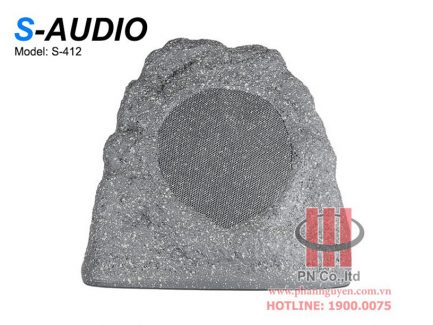 Loa giả đá sân vườn S-Audio S-412