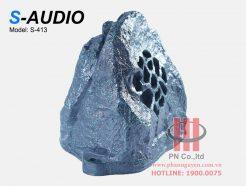 Loa giả đá sân vườn S-Audio S-413