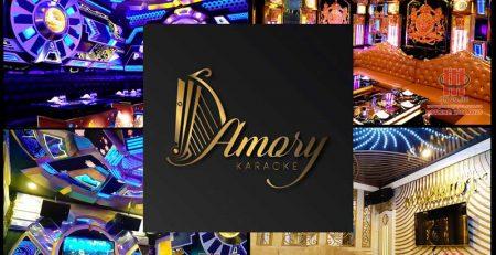 Công trình thi công hệ thống âm thanh chuyên nghiệp Karaoke AMORY - Q.5