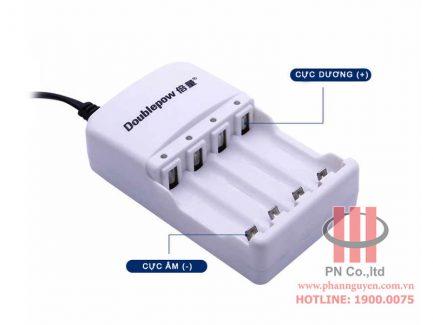 Bộ sạc pin thông minh 4 viên doublepow dp-k02