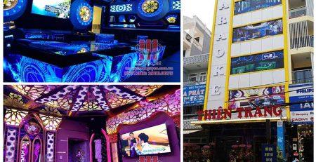 Công trình thi công hệ thống âm thanh karaoke chuyên nghiệp tại Karaoke Thiên Trang - Gò Vấp