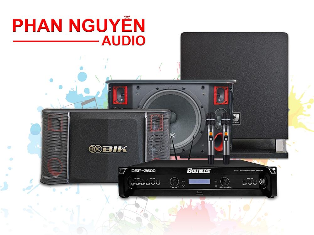 Dàn karaoke gia đình PN-F02S cao cấp