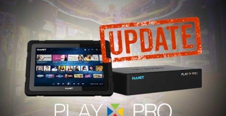 Hướng dẫn cập nhật phần mềm mới nhất trên đầu Hanet PlayX Pro