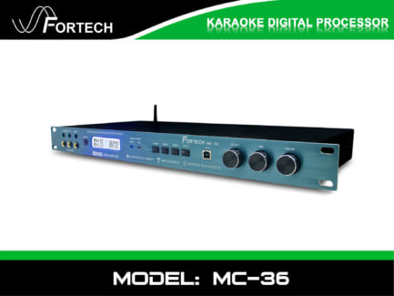 Vang số – Mixer digital Fortech MC-36 chuyên nghiệp.
