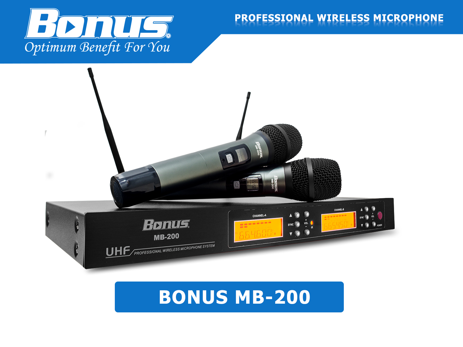MIcro không dây Bonus MB-200