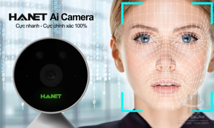 Camera AI Hanet – Nhận diện khuôn mặt, chấm công thông minh